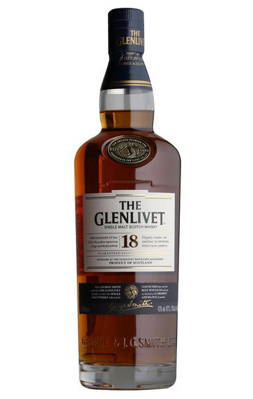 Glenlivet, 18-year-old, Speyside, Single Malt Scotch Whisky (40%)