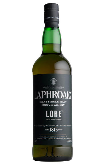 Laphroaig Lore, Islay, Single Malt Scotch Whisky, 48%