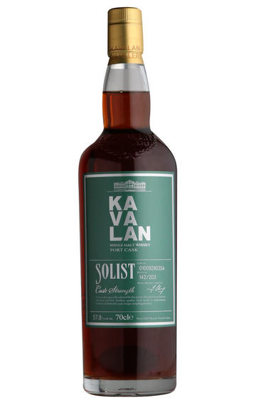 Kavalan, Solist Port Cask, Taiwanese Whisky (57.8%)