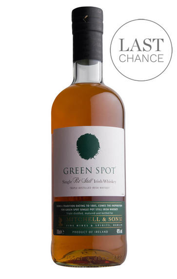 Green Spot, Single Pot Still Irish Whiskey (40%)