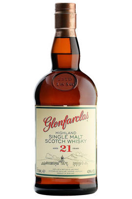 Glenfarclas, 21-year-old, Speyside, Single Malt Scotch Whisky (43%)