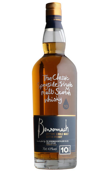 Benromach, 10 Year-old, Speyside, Single Malt Scotch Whisky, 43.0%