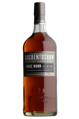 Auchentoshan Three Woods, Lowland, Single Malt Scotch Whisky (43%)