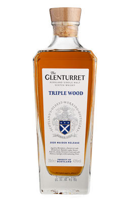 The Glenturret, Triple Wood, 2020 Maiden Release, Highland, Single Malt Scotch Whisky (43%)