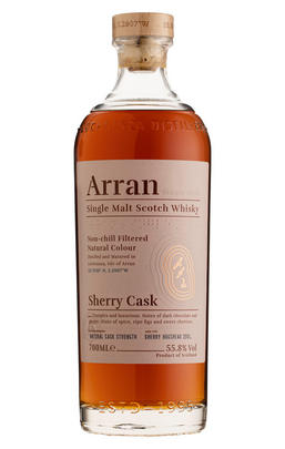 Arran, Sherry Cask, Island, Single Malt Scotch Whisky (55.8%)