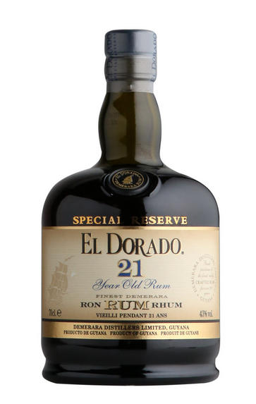 El Dorado, 21-year-old, Guyana Rum (43%)