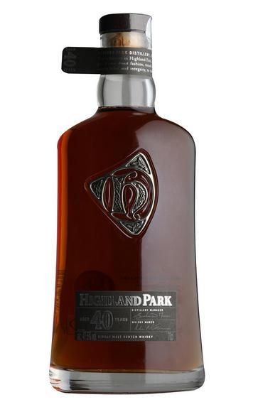 Highland Park, 40-year-old, Orkney, Single Malt Scotch Whisky (47.5%)