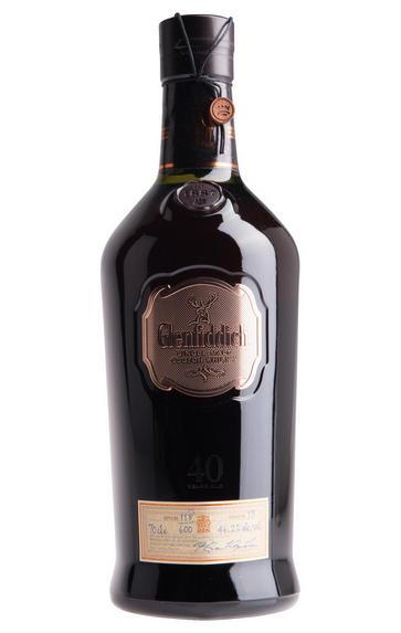 Glenfiddich, 40-year-old, Speyside, Single Malt Whisky, 46.2%