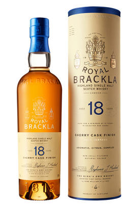 Royal Brackla, Palo Cortado Sherry Cask Finish, 18-Year-Old, Highland, Single Malt Scotch Whisky (46%)