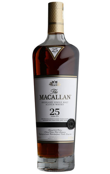Macallan 25-year-old, Sherry Oak, Speyside, Single Malt Whisky, 43.0%