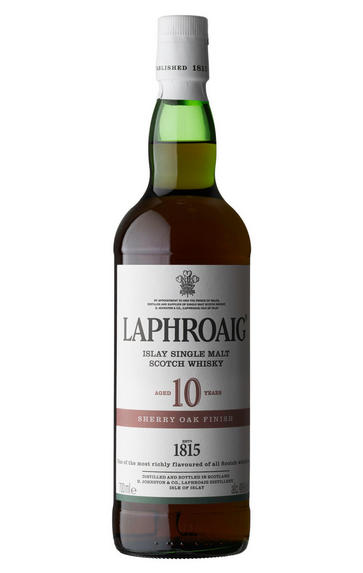 Laphroaig, Sherry Cask, 10-Year-Old, Islay, Single Malt Scotch Whisky (48%)