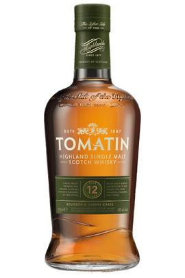 Tomatin, Bourbon & Sherry Casks, 12-Year-Old, Highland, Single Malt Scot Whisky (43%)