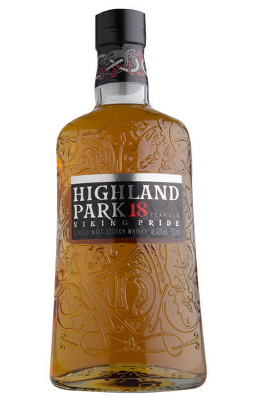 Highland Park 18 Year Old, Orkney, Single Malt Whisky, 43%