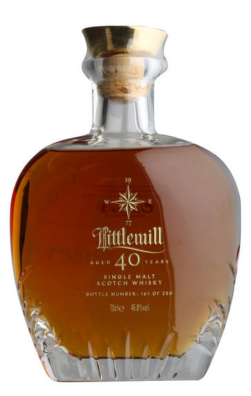 Littlemill, 40-year-old, Lowland, Single Malt Scotch Whisky, (46.8%)
