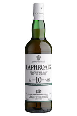 Laphroaig, Cask Strength, 10-Year-Old, Batch No. 013, Bottled 2021, Islay, Single Malt Scotch Whisky (57.9%)