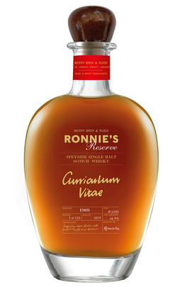1969 Ronnie's Reserve, Cask Ref 16202, Speyside, Single Malt Scotch Whisky, 46.3%