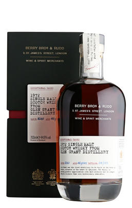 1972 Berry Bros. & Rudd Exceptional Casks, Cask Ref. 8240, Glen Grant, Single Malt Scotch Whisky (44.8%)