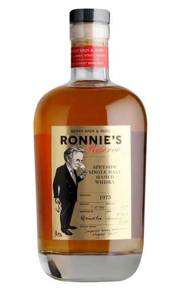 1975 Ronnie's Reserve, Cask Ref 10619, Speyside, Single Malt Scotch Whisky, 45.5%