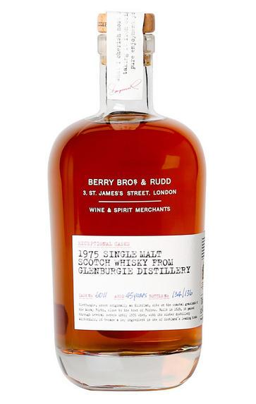 1975 Berry Bros. & Rudd Glenburgie, Cask Ref. 6011, Speyside, Single Malt Scotch Whisky (44.1%)