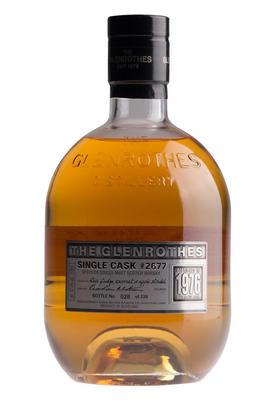 1976 The Glenrothes, Cask No. 2677, Single Malt Scotch Whisky, 47.4%