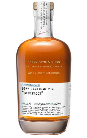 1977 Berrys' Exceptional Casks, Jamaican Rum, 37-year-old, 60.3%