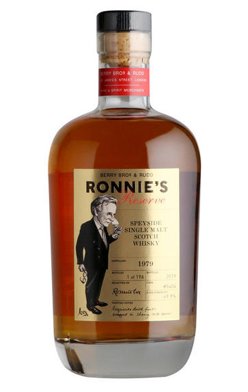 1979 Ronnie's Reserve, Cask Ref 5454, Speyside, Single Malt Scotch Whisky, 49.9%