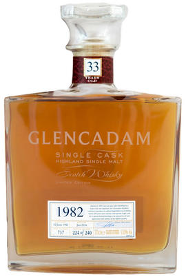 1982 Glencadam, Cask #737, 33-Year-Old, Highland, Single Malt Scotch Whisky (53%)