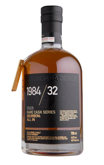 1984 Bruichladdich, Rare Cask Series, 32-Year-Old, Single Malt, (43.7%)