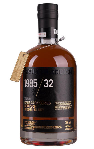 1985 Bruichladdich, Scotch Whisky, Bruichladdich Distillery, 48.70%