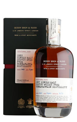 1987 Bunnahabhain, Cask No. 2463, Single Malt Scotch Whisky (50.8%)