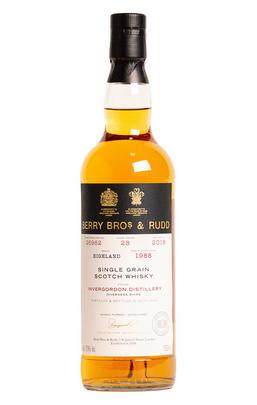 1988 Berrys' Invergordon, Cask No 26962, Single Grain Scotch Whisky, 57.9%