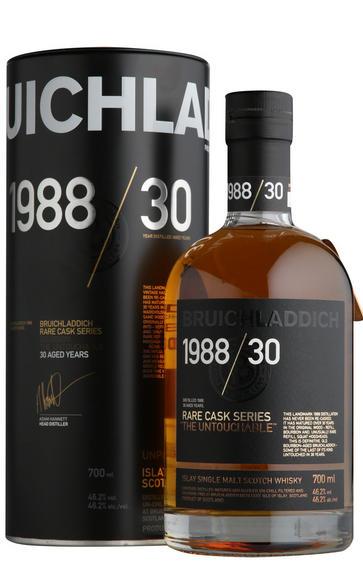 1988 Bruichladdich, The Untouchable, 30- Year-Old, Malt Whisky, (46.2%)