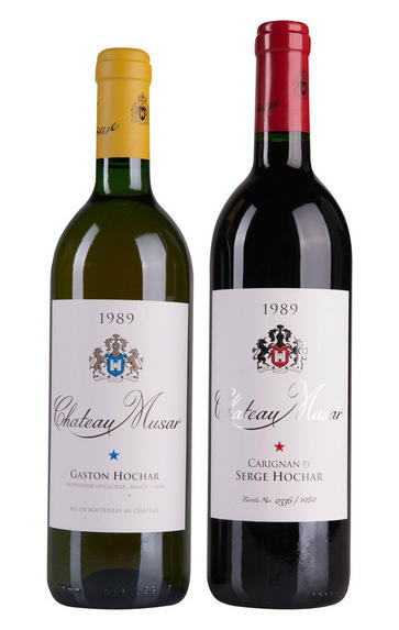 1989 Château Musar, 50th Anniversary Two-bottle Case, Bekaa Valley, Lebanon