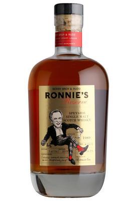 1989 Ronnie's Reserve, Cask Ref 10415, Speyside, Single Malt Whisky, 54%
