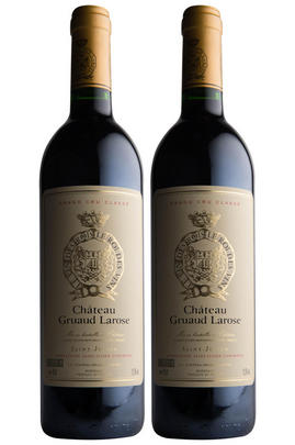 1989 Château Gruaud Larose, St Julien, Bordeaux (Two-bottle Pack)