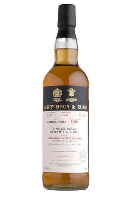 1991 Berrys Bros. & Rudd 26-year-old Springbank, Cask Ref. 455, Bottled 2018, Campbeltown, Single Malt Scotch Whisky (44.9%)