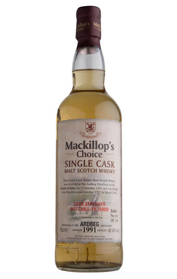 1991 Ardbeg, Mackillop's Choice, Single Malt Scotch Whisky, (40.4%)