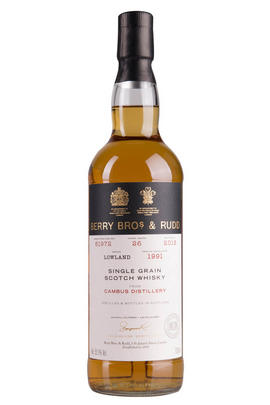 1991 Cambus, Cask No. 61972, Single Grain Scotch Whisky, 55.1%