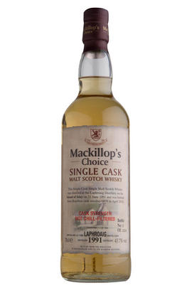 1991 Laphroaig, Mackillop's Choice, Single Malt Scotch Whisky, (43.7%)
