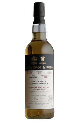 1992 Berrys' Tormore, Cask No. 101158, Single Malt Scotch Whisky, (44.5%)