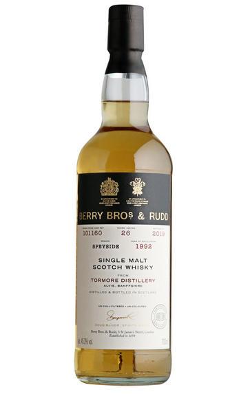 1992 Berry Bros. & Rudd Tormore Cask Ref. 101160, 26-Years, Single Malt Scotch Whisky(45.2%)