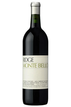 1993 Ridge Vineyards, Monte Bello, Santa Cruz Mountains, California, USA