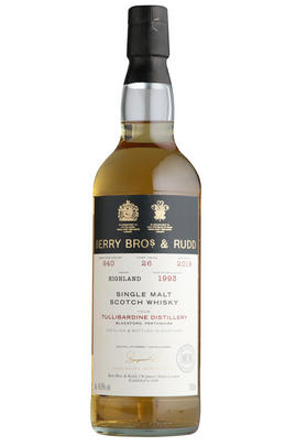 1993 Berrys' Tullibardine, Cask Ref 940, Single Malt Scotch Whisky, (48.9%)