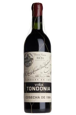 1994 Viña Tondonia Tinto, Gran Reserva, Bodegas R. López de Heredia, Rioja, Spain