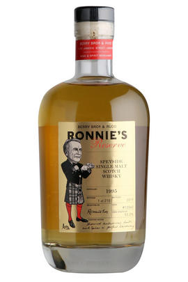 1995 Ronnie's Reserve, Cask Ref 12040, Speyside, Single Malt Scotch Whisky, 53.2%