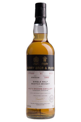 1995 Berrys' Own Allt-á-Bhainne, Cask 125314, Single Malt Scotch Whisky (52.7%)