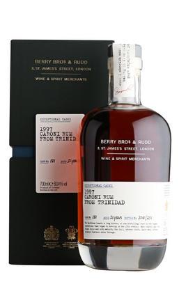 1997 Berrys' Exceptional Casks, Caroni, Cask No. 181, Rum (60.4%)