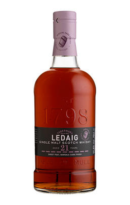 1998 Ledaig, Sweet Peat, Marsala Cask Finish, 21-Year-Old, Isle of Mull, Single Malt Scotch Whisky (55.8%)