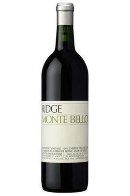 1999 Ridge Vineyards, Monte Bello, Santa Cruz Mountains, California, USA