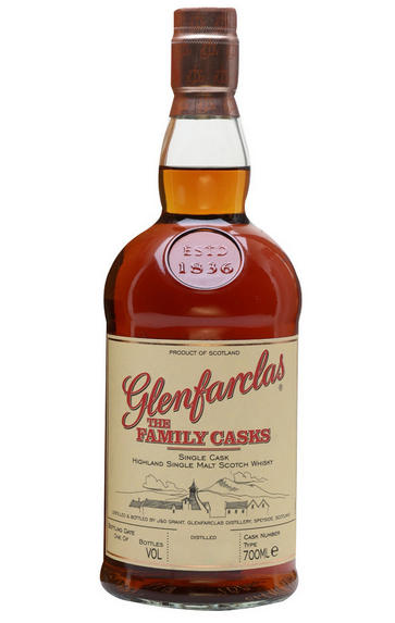 1999 Glenfarclas Family Cask No. 7060, Single Malt Whisky, Speyside 56%